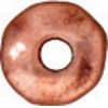 Spacer Heishi Nugget 5mm Antique Copper